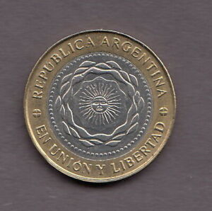ARGENTINA 2011 2 pesos Bimetallic (May Revolution) KM1165  R912
