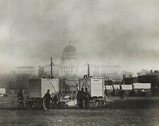 Civil War- Thaddeus Lowe'S Balloon Gas Generator At Capitol Dc c1861 Photo c1970