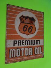 tin metal home garage repair shop man cave decor service station fuel phillips
