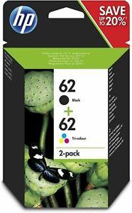 HP 62+62 Black+ triColor MULTIPACK ORIGINALE