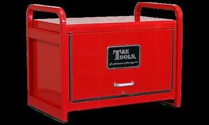 """34"""" Heavy Duty Road Maintenance Tool Chest - Red"""