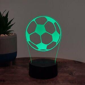 LED Lampe Fussball