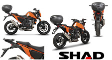 Fixation top master SHAD KTM Duke 690 2017 topcase moto porte paquet support