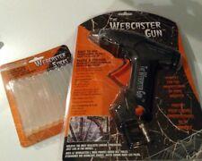 WEBCASTER spiderweb GUN KIT AIR COMPRESSOR + FREE WebStick pro Halloween decor