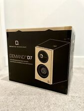 Definitive Technology Demand D7 Bookshelf Speakers - Black BRAND NEW