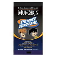 Munchkin Penny Arcade - Munchkin Booster - Expansion - New