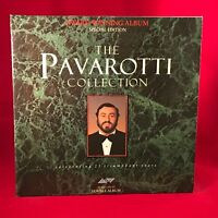 LUCIANO PAVAROTTI The Pavarotti Collection 1986 UK Double Vinyl LP Best Of EXC a