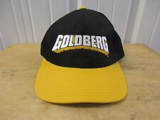 VINTAGE 1998 WCW/NWO WRESTLING GOLDBERG BLACK/YELLOW SNAPBACK HAT/CAP PRE OWNED