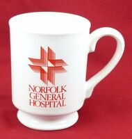 Vintage Norfolk General Hospital Coffee Mug  Part of Sentara Healthcare Virginia
