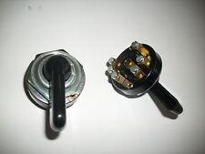 Lichtschalter 4 Stellungen Knebelschalter für  Schlepper Traktor Oldtimer 321400