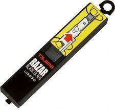 10er Pack Tajima RAZAR Black Blade Ersatzklingen Cutterklingen 18mm Schwarz