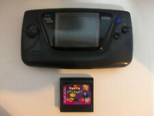 Vintage SEGA Game Gear Portable Video Game Console w Super Columns Game WORKS