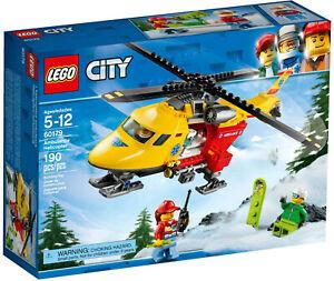 (3) LEGO City Ambulance Helicopter Mountain Rescue 60179 Sets Retired / NISB