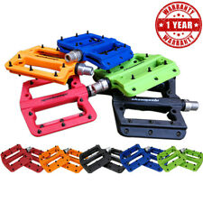 MTB Bike Pedals Bicycle Pedal Racing Cycle Flat Strong Plastic Parts Ultra-light