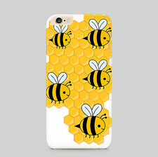 Bumble Bee Honeycomb Honey Phone Case Cover