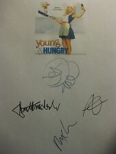Young & Hungry Signed TV Script Emily Osment Jonathan Sadowski Aimee Carrero rpt