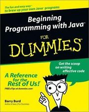 NEW - Beginning Programming with Java For Dummies (For Dummies (Computers))
