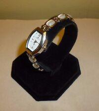 Ladies Denacci dE Japan Movt Silvertone Petite Watch W/Link Clasp New Battery