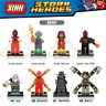 X0107 Bausteine Figuren Superhero Spiderman Spielzeug Marvel's Avengers 8PCS