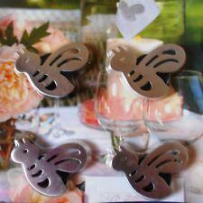 4er Set Tischdeckenhalter mit Magnet (Tischtuchhalter) als Biene *