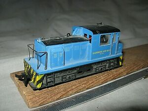 A6412 HO UNKNOWN BALTIMORE & OHIO RR PLYMOUTH 4 WHEEL  DIESEL LOCOMOTIVE