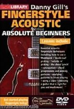 LICK LIBRARY DANNY GILLS FINGERSTYLE ACOUSTIC ABSOLUTE BEGINNERS Guitar DVD