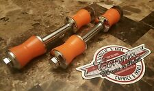 Chrome ORANGE Swaybar Links 71-96 Impala SS/Caprice,50-57 Bel Air,78-96 Cadillac