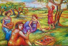 Celebration Of Women Apple Picking Puzzle 1000 Piece NEW