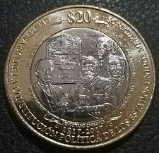 20 pesos Mexico 2017 Constitucion km 989 UNC