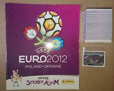 PANINI - EM UEFA EURO 2012 - ALBUM VERSION INTERNATIONAL + COMPLET SET + EXTRAS