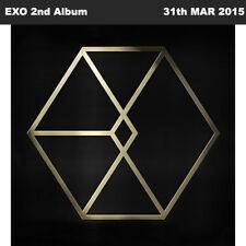 EXO EXODUS 2nd Album Korean Random Ver CD+PhotoBook+Photocard KPOP