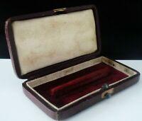 Antique Folding Fruit Knife & Fork Empty Box c.1830