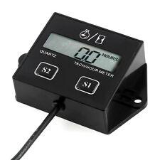 Digital Hour Meter Tachometer Small Engine Spark  For Spark Plugs Engine Tach FA