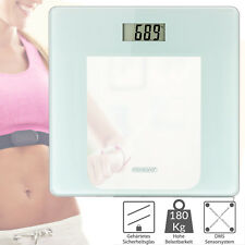 Pèse personne balance digitale blanc 180kg système de capteurs slim moderne