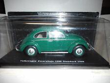 VOLKSWAGEN ESCARABAJO BEETLE COX 1200 1960 AUTO VINTAGE INOLVIDABLES SALVAT 1/24