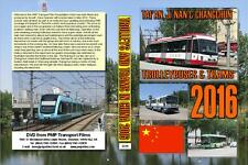 3319. China. Tai'an. Ji'nan, Changchun. Trolleybus, Tram, Light Rail, Buses. Ma