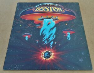 Boston: Self Titled Epic 81611 Vinyl LP More Than A Feeling 1976 Rock Classic