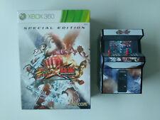 Coffret Collector Special edition Street fighter X Tekken Xbox 360 FRancais