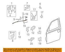 HONDA OEM 06-14 Ridgeline Front Door-Control Cable Right 72131SJCA00