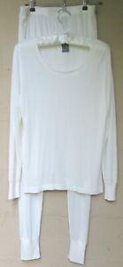Eddie Bauer Base Layer Silk Underwear Top/Long Johns Large