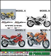 kit adesivi stickers compatibili  vtr 1000 f firestorm 1997