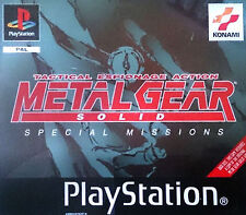 Metal Gear Solid: VR Missions (Sony PlayStation 1, 1999) - European Version