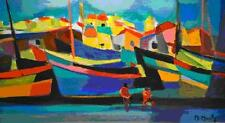 "Marcel Mouly  ""Barques Dans Les Maisons""      MAKE  OFFER   #DDSBA"