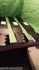 """Craftsman 54"""" Set of 3 Gator Mulch Blades 187255 187254 187256 Poulan Husqvarna"""
