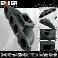 Cast Iron Manifold for 00-08 Honda S2000 F20C/F22C T3 Flange AP1 AP2