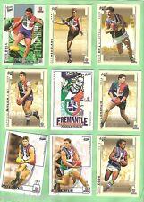 FREMANTLE DOCKERS 27 DIFFERENT AFL CARDS - 2002 to 2004
