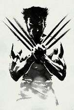 Wolverine Marvel Movie Poster Print Wall Art Home Decor Xmen Comic Superhero