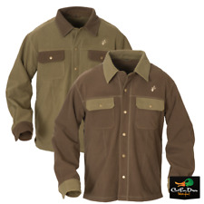 NEW AVERY OUTDOORS HERITAGE FLEECE JAC SHIRT BUTTON UP LONG SLEEVE