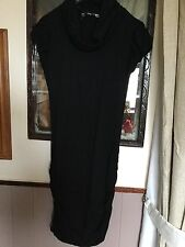 Black Short Dress/Top size 10 New Look