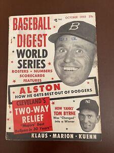 October 1955 Baseball Digest